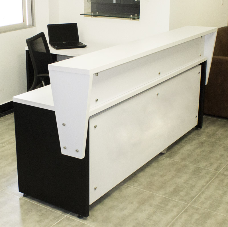 Recepciones para oficina intro b lineas y dise os for Medidas de muebles para oficina