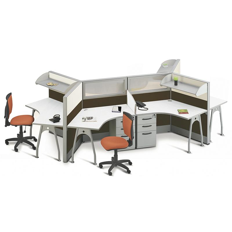 Divisiones modulares para oficina dise o de espacios a for Disenos de escritorios para oficina