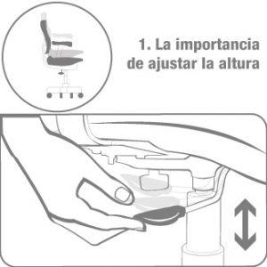 silla ergonómica