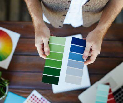 color en la oficina